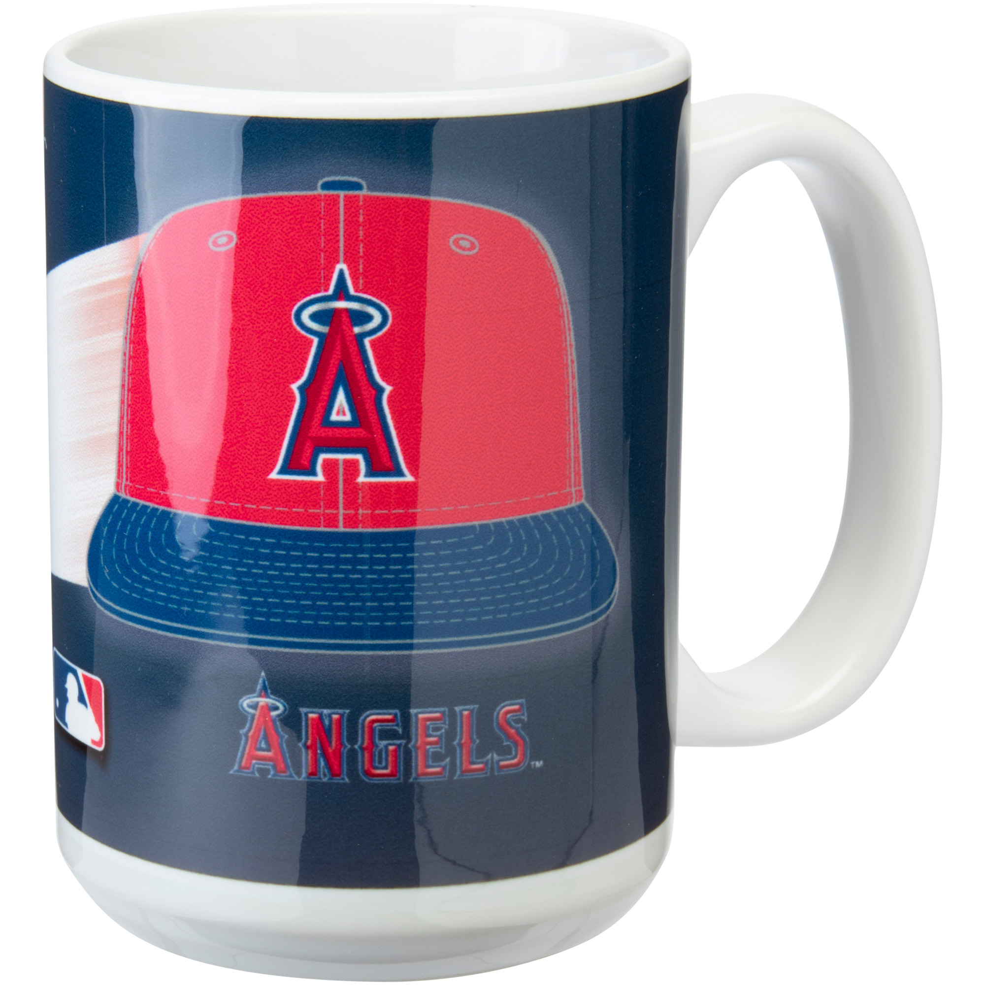 Los Angeles Angels 15oz. Team 3D Graphic Mug - No Size