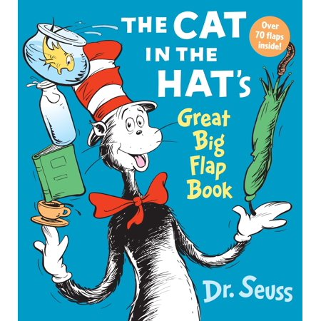 Cat in the Hat Great Big Flap Book (Board Book) (The Cat In The Hat Part 3)