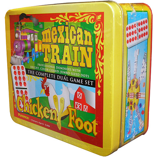 Mexican Train/Chickenfoot Dual Game Set