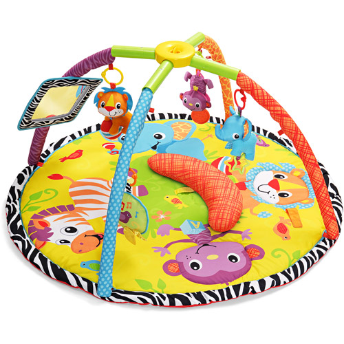 Infantino - Twist & Fold Gym, Baby Animals