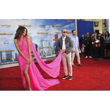 Zendaya Michael Keaton At Arrivals For Spider-Man Homecoming Premiere Tcl Chinese Theatre Los Angeles Ca June 28 2017 Photo By Elizabeth GoodenoughEverett Collection - Homecoming Photo Ideas