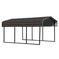 Arrow 10' Wide Galvanized Steel Metal Carport, Multiple Sizes and Colors