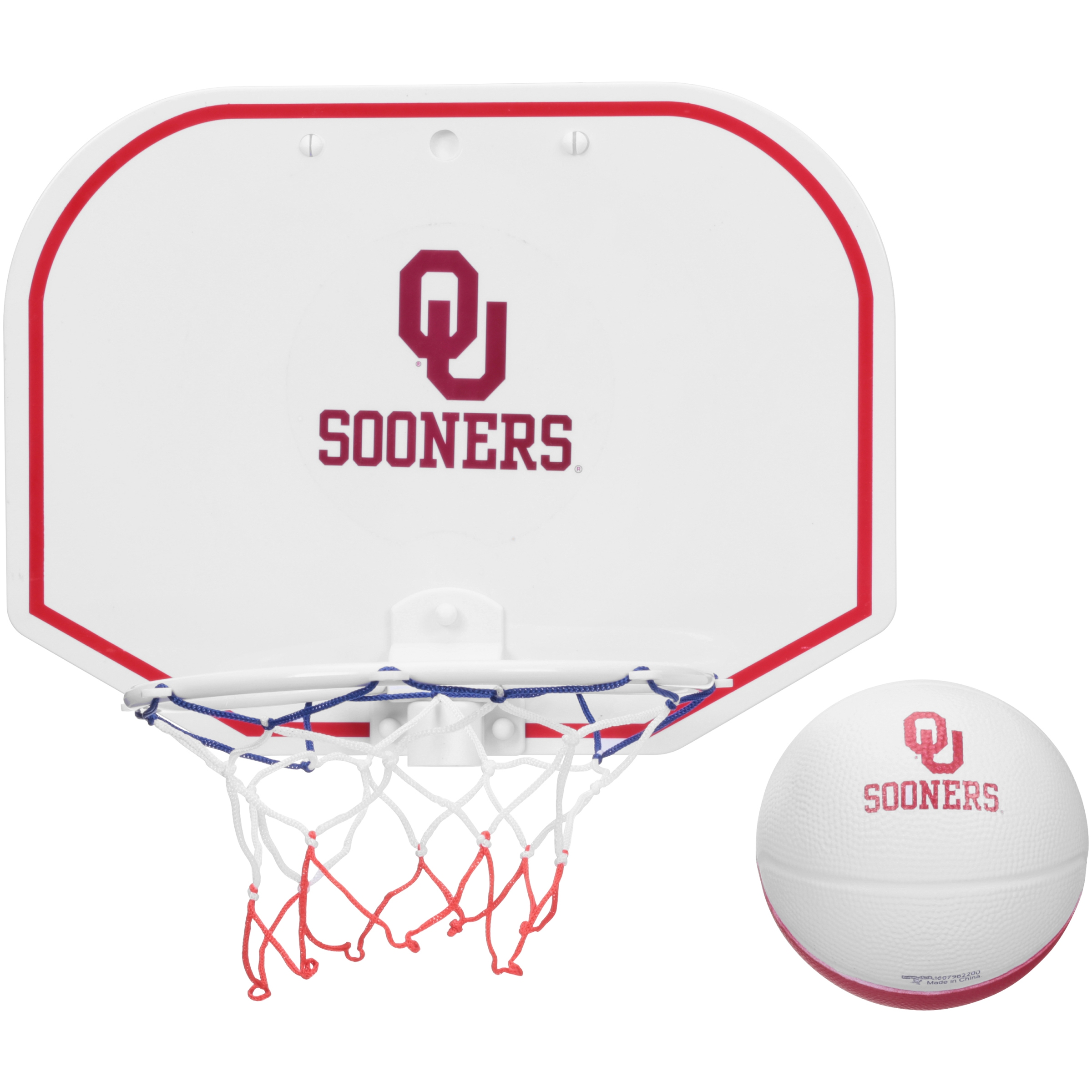 Officially Licensed NCAA Oklahoma Sooners® Hoop Set
