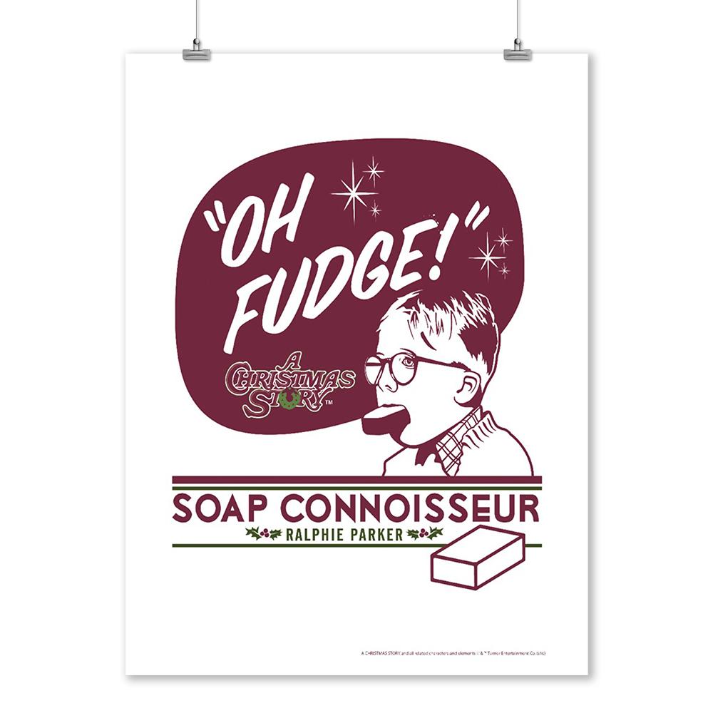A Christmas Story - Oh Fudge, Soap Connoisseur (9x12 Art Print, Wall ...