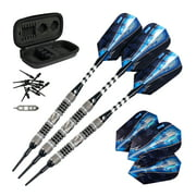 Viper Astro 80% Tungsten Soft Tip Darts Black Rings 16 Grams