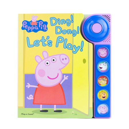 Halloween Ding Dong Ditch (Peppa Pig - Ding! Dong! Let's Play! Doorbell Sound Book - Pi Kids)