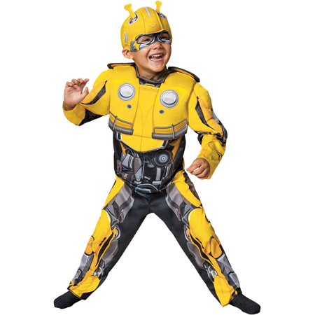 Transformers Bumblebee Movie Bumblebee Infant Muscle Halloween - Bumblebee Transformers Costume