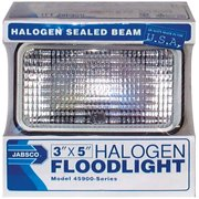 Jabsco 459003000 3X5 12V Halo Floodlight Black