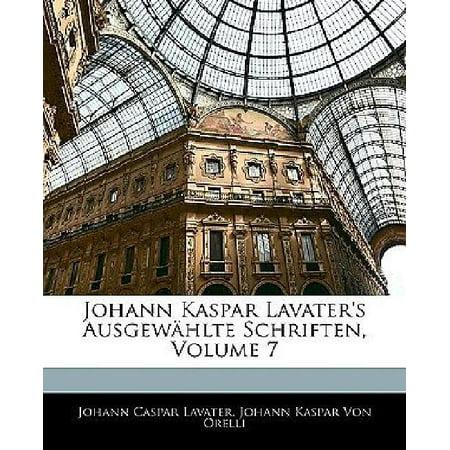 Johann Kaspar Lavater's Ausgewahlte Schriften, Volume 7 - image 1 de 1