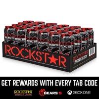 24-Pack Rockstar 16 Fl Oz Punch Energy Drink