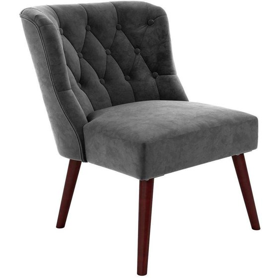 Novogratz Vintage Tufted Accent Chair Multiple Colors
