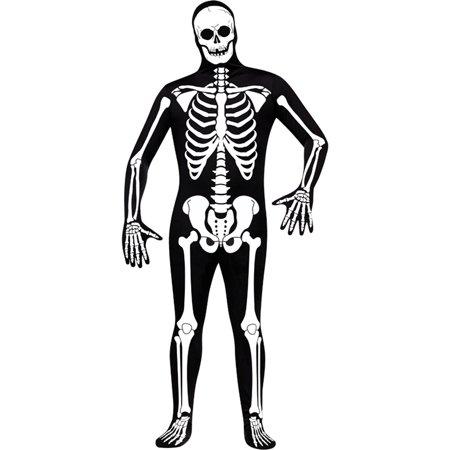 Morris Costumes Skin Suit Skeleton Adult Std, Style, FW131454S