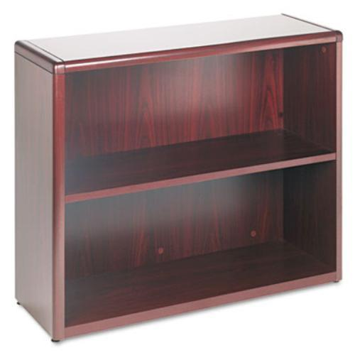 "Hon 10700 Series Bookcase - 36"" X 13.1"" X 29.6"" - Wood, Hardwood - 2 X Shelf[ves] - Mahogany (10752nn)"