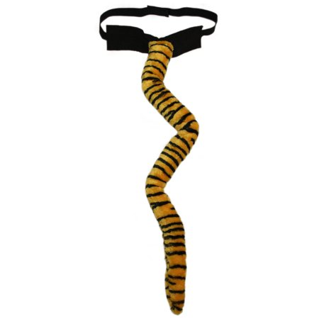 SeasonsTrading Deluxe Long Plush Tiger Tail - Halloween Costume Party Dress Up](Tiger Halloween Costume Baby)