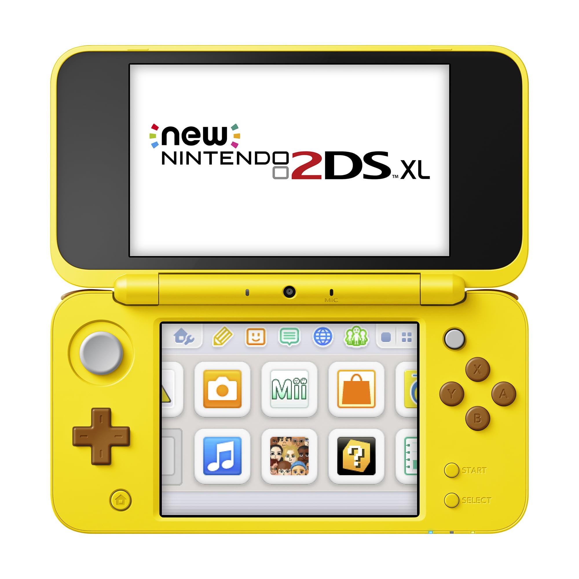 New Nintendo 2DS XL - Yellow Pikachu Edition, JANSCBAB
