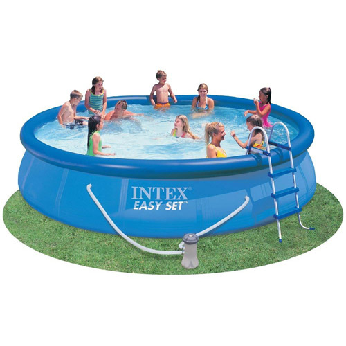 Intex 15' x 36'' Easy Set Pool Above Ground Swimming Pool