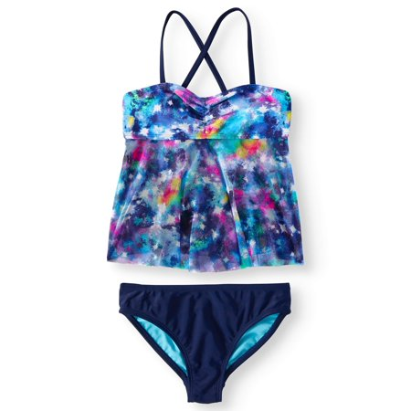 Girls Swim Coverup (Girls' Galaxy Tankini)