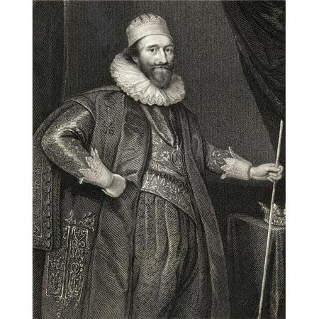 Posterazzi DPI1858770 Lodowick Stuart Duke of Richmond & Lennox 1574-1624 English Statesman From The Book Lodge S British Portraits Poster Print, 13 x 17 (English Portrait)