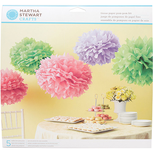 Tissue Paper Pom Pom Kit-Colorburst