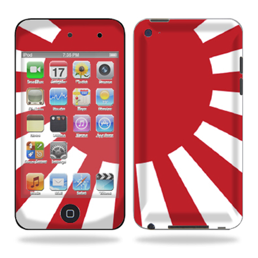 Skin Decal Wrap for iPod Touch 4G 4th Generation – Rising Sun