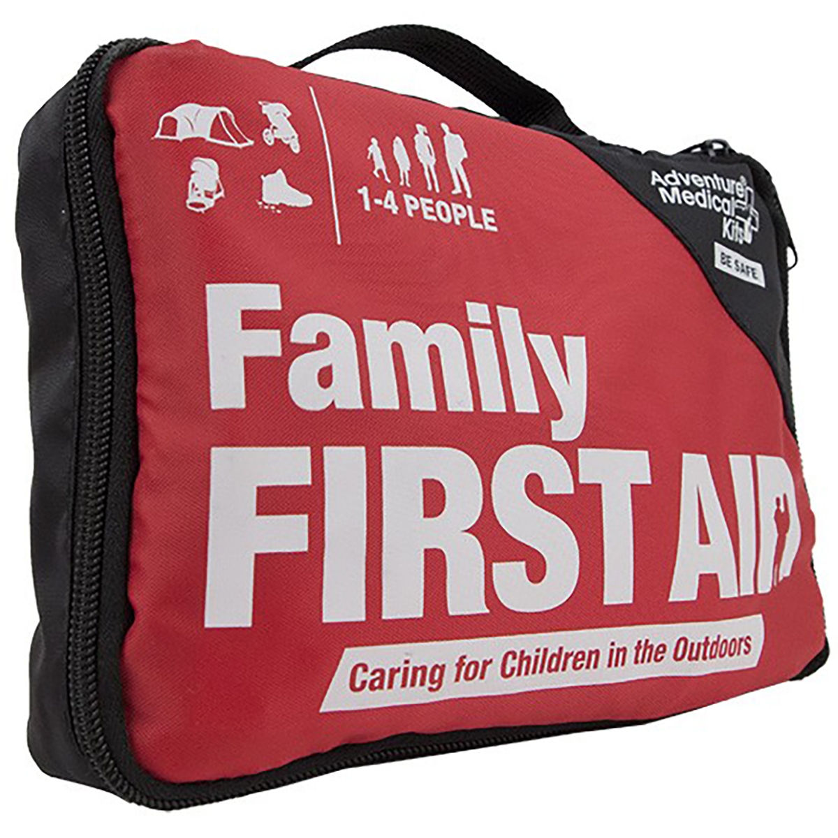 Outdoor Emergency Adventure Family First Aid kit - Survival First Aid kit for Camping Hunting Outdoor activities (Kit for 1-4 people)