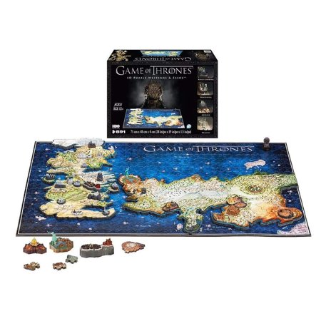 Excellent Puzzle Game - Game of Thrones 4D Puzzle of Westeros & Essos