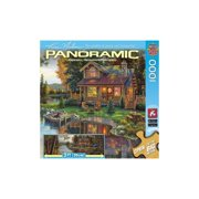 MasterPieces / Kim Norlien Panoramic 1000-piece Puzzle, Peace Like a River Multi-Colored