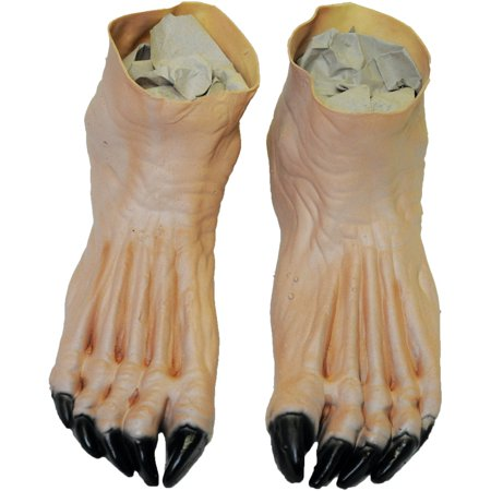 Flesh Monster Feet Adult Halloween Accessory - Halloween Mix Monster Mash