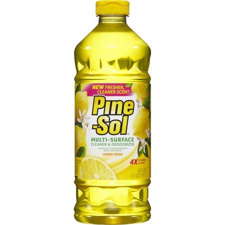 Pine-Sol Multi-Surface Cleaner, Lemon Fresh, 48 oz Bottle