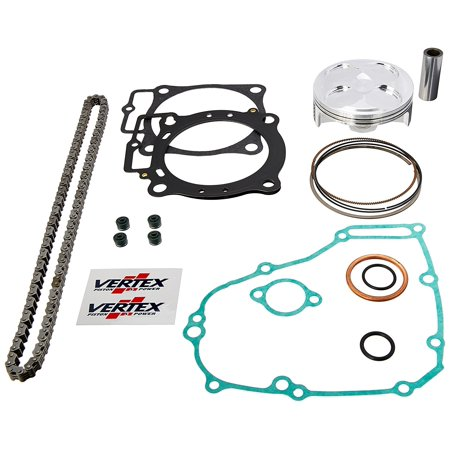 new vertex top end piston kit for honda crf 450 r 13 16 vtktc23856c. Black Bedroom Furniture Sets. Home Design Ideas