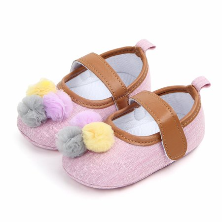 3b3612e077e3 BOBORA - BOBORA Baby Girls Lovely Soft Sole Anti-Slip Colorful Ball ...