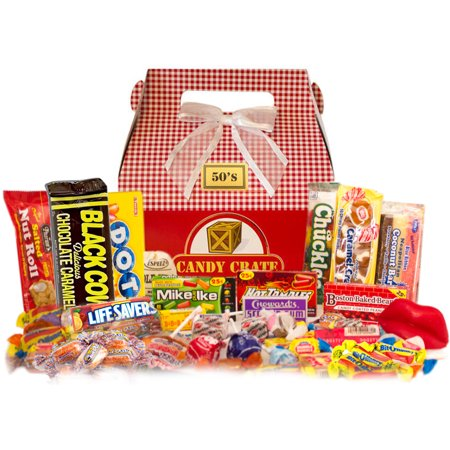 Candy Crate Holiday 1950s Retro Candy Gift Box
