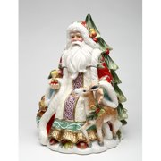 Cosmos Gifts Victorian Harvest Santa Storage Jar