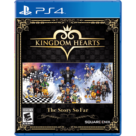 Kingdom Hearts Bundle: The Story So Far, Square Enix, PlayStation 4, 662248921860 (Band Of Gold Remix)
