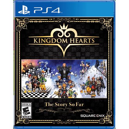 Kingdom Hearts Bundle: The Story So Far, Square Enix, PlayStation 4, 662248921860