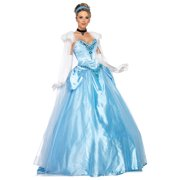 Disney Princesses Deluxe Cinderella Costume Dress Adult