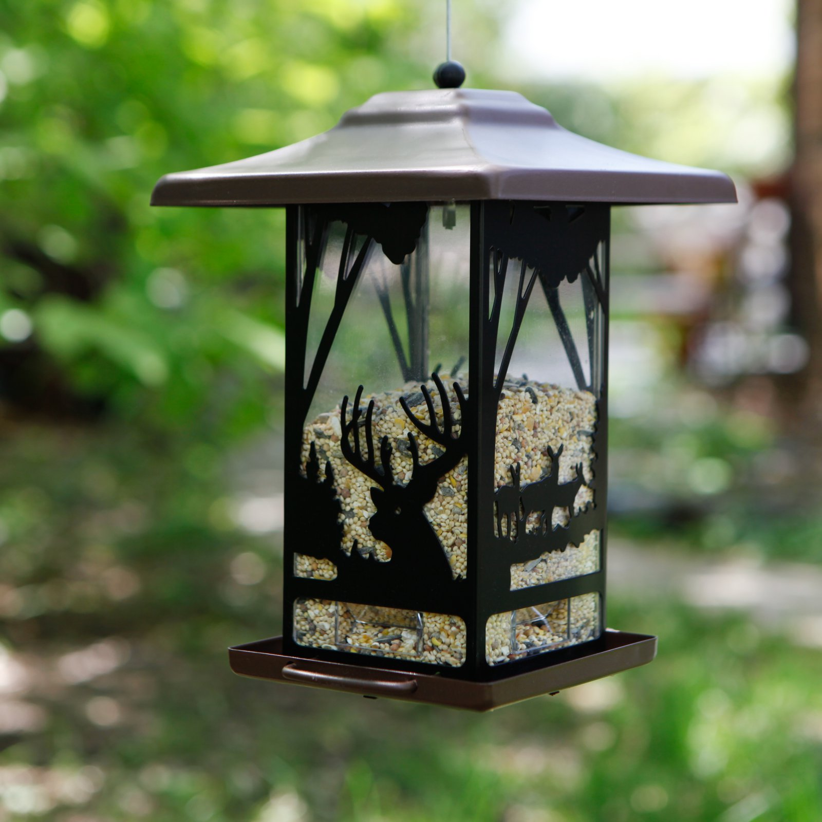 Perky-Pet 2 lb Wilderness Lantern Wild Bird Feeder