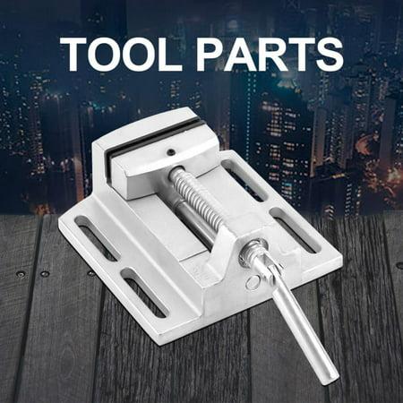 Yosoo Drill Press Vice,Industrial Heavy Duty 2.5  Drill Press Vice Milling Drilling Clamp Machine Vise Tool,Machinist Vise Milling Drill Press
