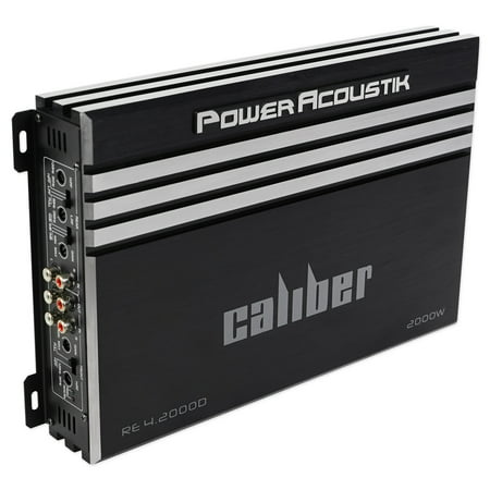 Power Acoustik RE4-2000D 2000 Watt 4-Channel Car Stereo Amplifier