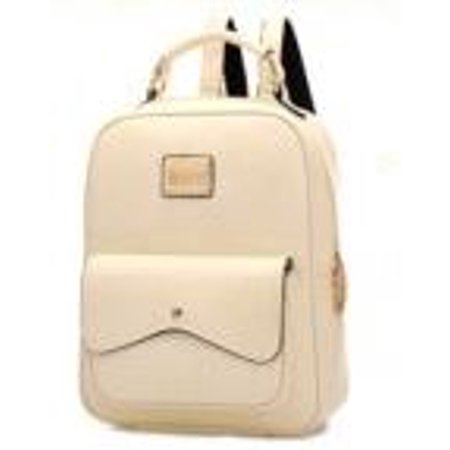 New Women Leather Backpack Shoulder Bag Travel College Rucksack Satchel - Black European Style Rucksacks