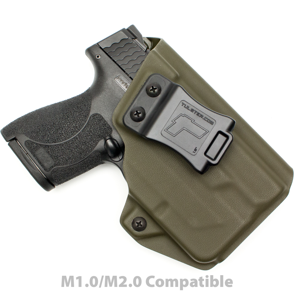 M&P Shield 9mm/.40 w/Streamlight TLR-6 - ProfileLB Holster - Right Hand