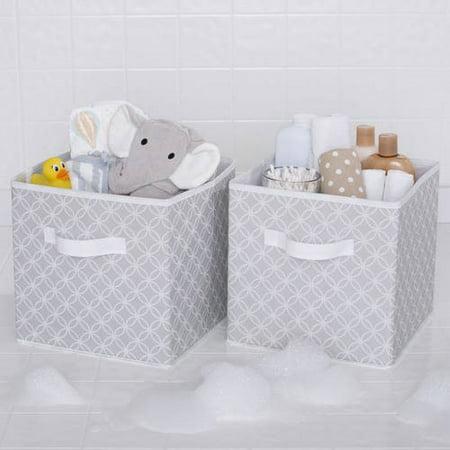 Delta Children 2 Deluxe Water Resistant Storage Cubes