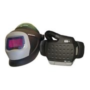 3M SPEEDGLAS 34-0705-SGX PAPR Sys,Hard Hat L-705SG,9100X Filter