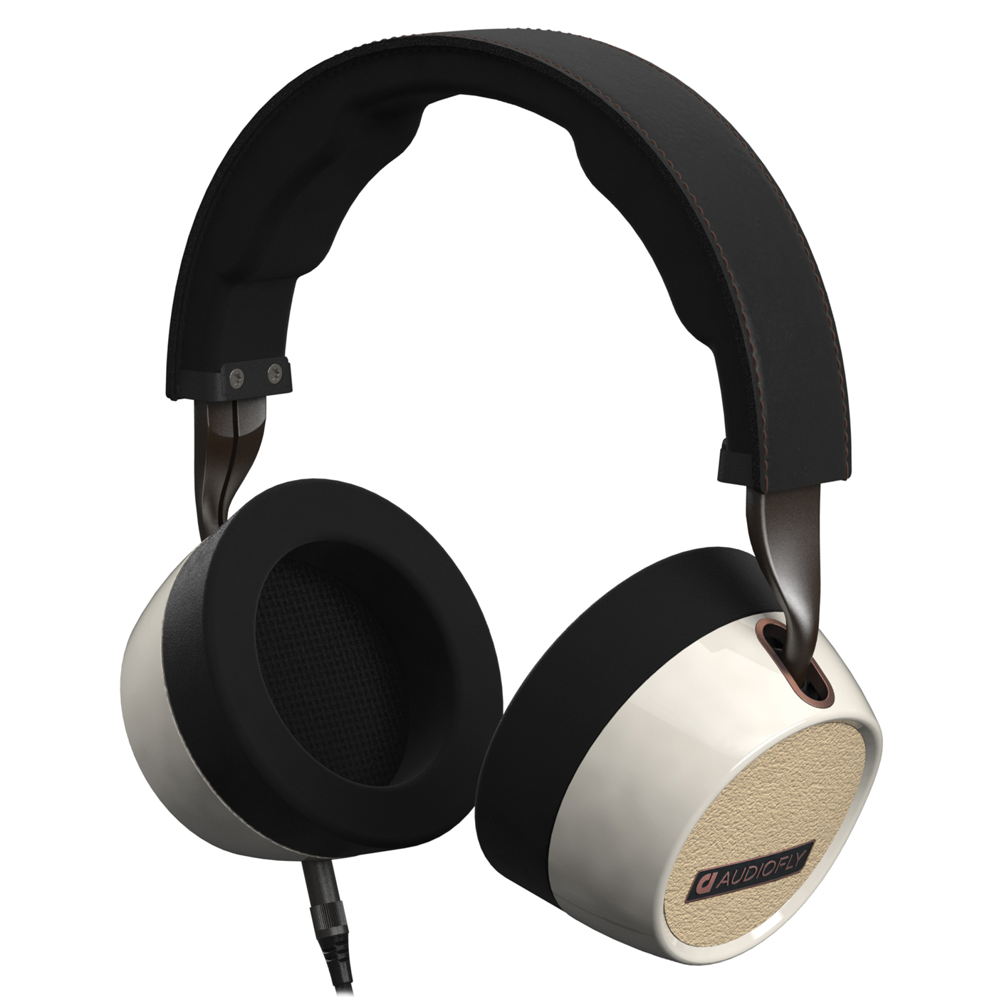 Audiofly AF240 Over-Ear Headphones With Mic