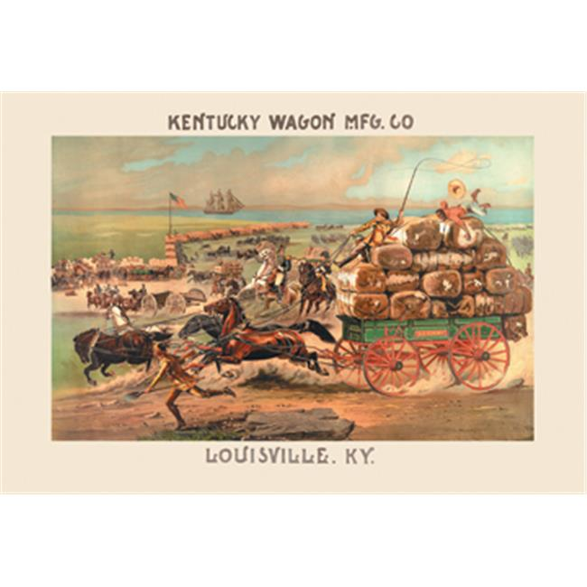 Buy Enlarge 0-587-14493-9P12x18 Kentucky Wagon Manufacturing Company- Paper Size P12x18