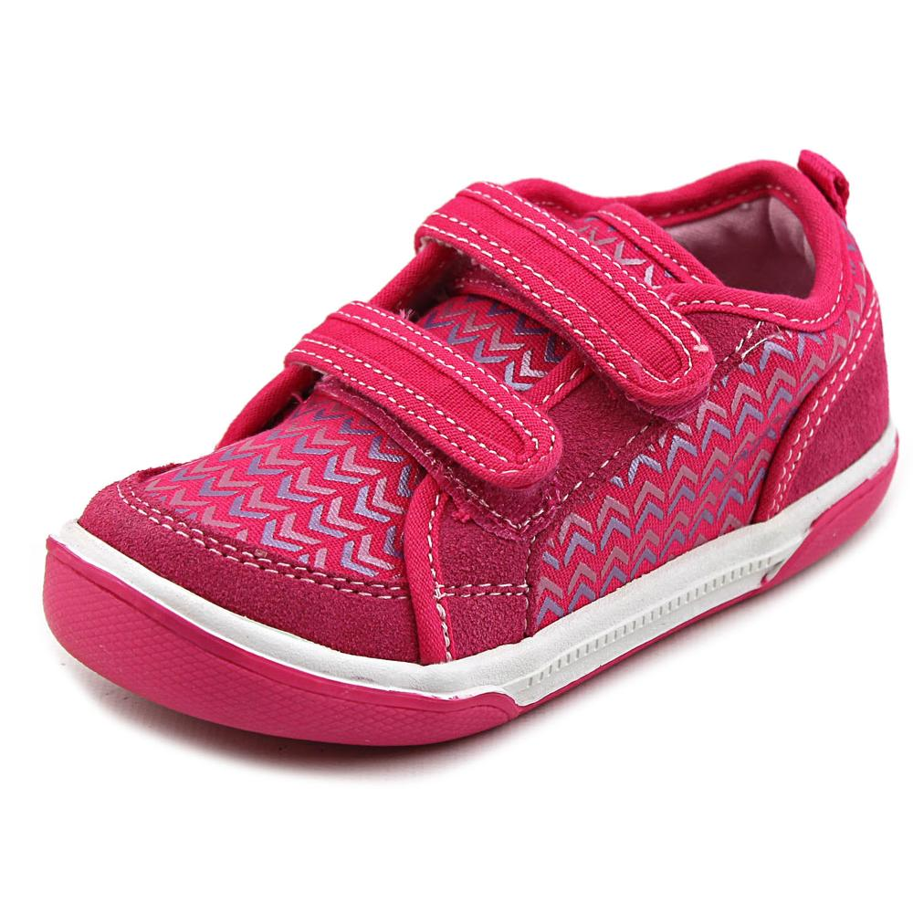 Stride Rite Dalis Toddler  Round Toe Canvas Pink Sneakers