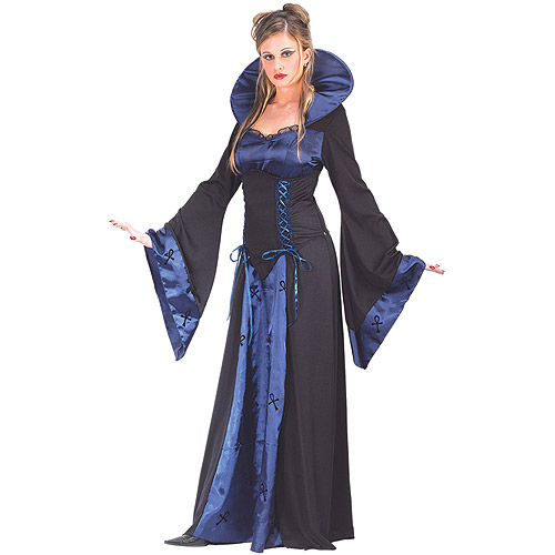 Vampiress Blue Adult Halloween Costume