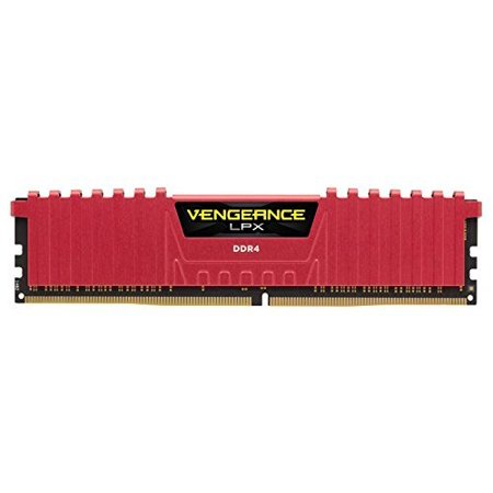 8gb Dram Memory Module (Corsair Vengeance LPX 8GB (1 x 8GB) DDR4 DRAM 2400MHz (PC4-19200) C14 Memory Kit - Red)
