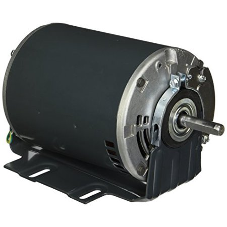 Marathon B401 56YZ Frame Totally Enclosed 56S17D2062 Attic Fan Motor, 1/2 hp, 1800 rpm, 115 VAC, 1 Split Phase, 1 Speed, Ball Bearing, Resilient Base