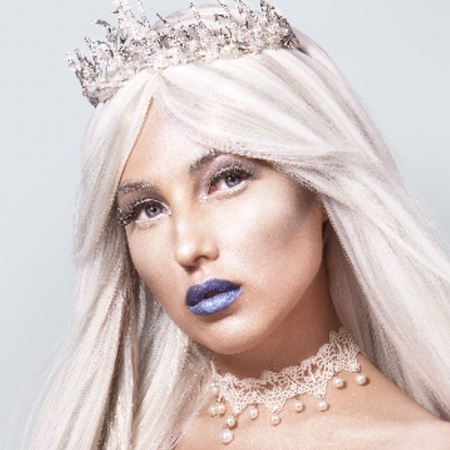 Cold Ice Queen Halloween Makeup Collection